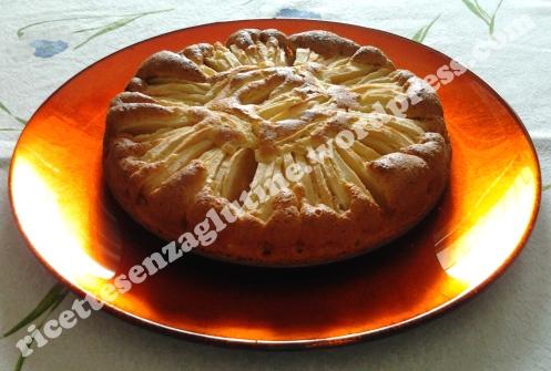Torta casereccia alle mele senza glutine