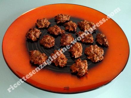 Mini Frittelle al Forno senza glutine. Ricetta pasticcini cocco e carote