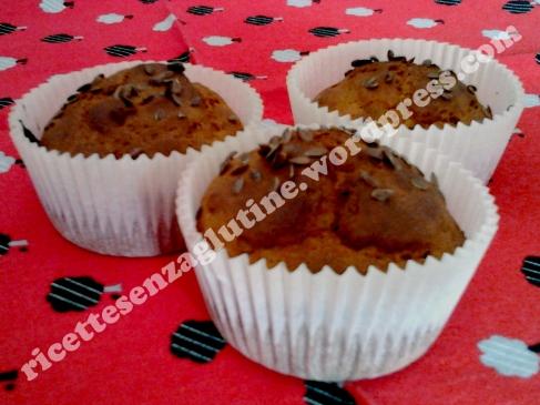 Ricetta senza glutine per muffin con yogurt miele e semi