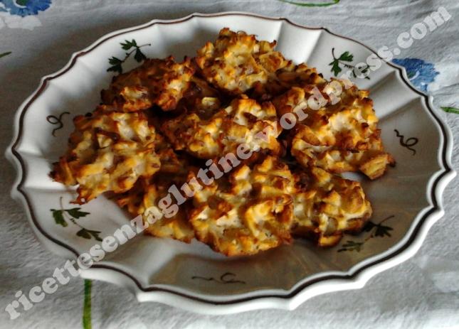 Frittelle di mele al forno. Senza glutine, senza lievito, senza lattosio, senza olio.