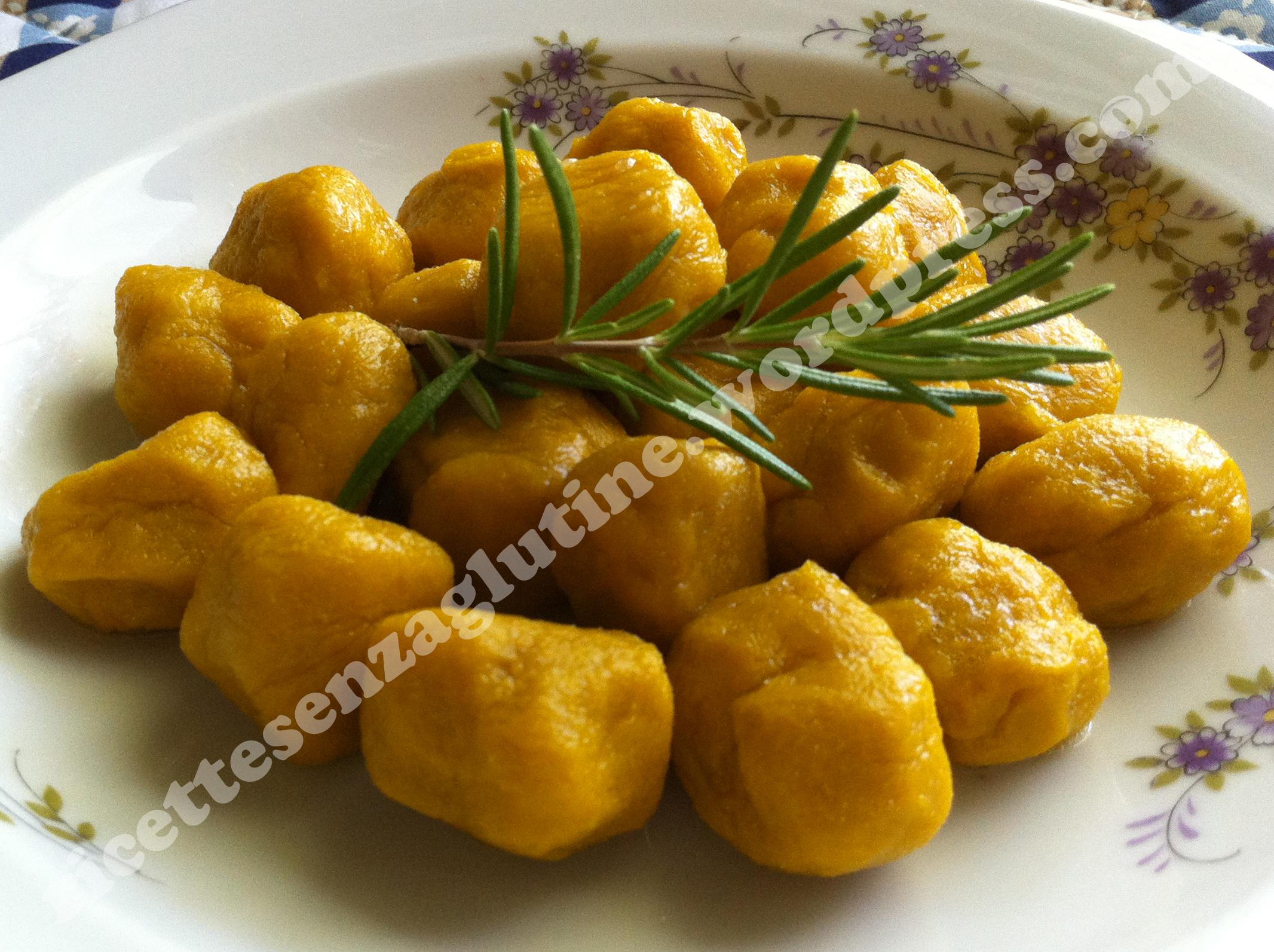 Ricetta Gnocchi Di Zucca Per Celiaci.Gnocchi Di Zucca Ricette Senza Glutine