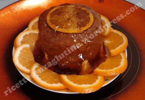 Pan di Spagna cacao arancia