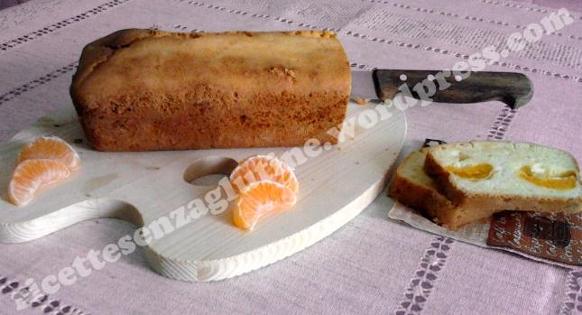 Plum Cake ai mandarini senza lievito