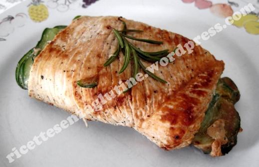 Rollè di Tacchino e Zucchine ricetta secondo piatto per celiaci