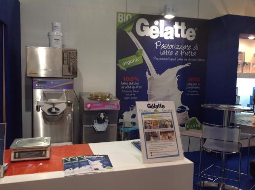 Host 2013 stand Gelatte senza glutine
