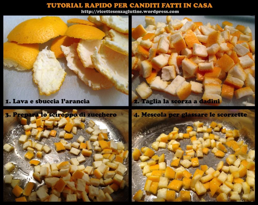 Canditi fatti in casa per Panettone senza Glutine
