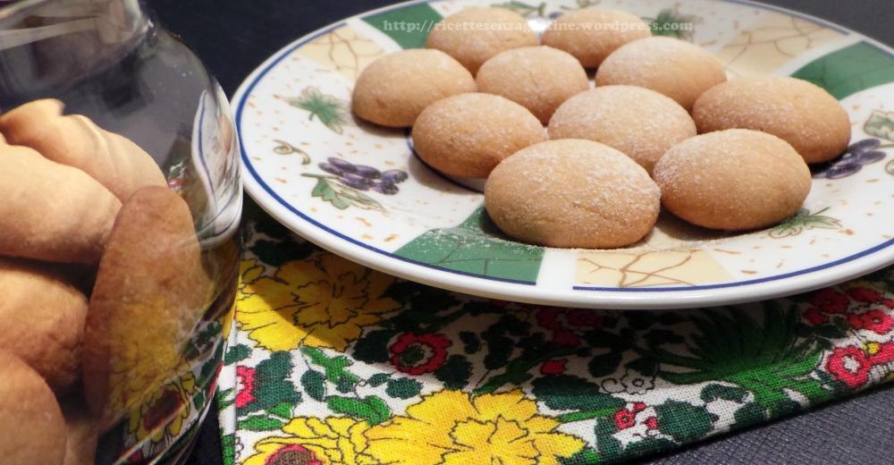 Biscotti con Farina di Riso senza glutine nichel lievito
