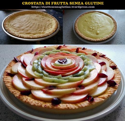 Crostata di Frutta con Crema Pasticcera senza Glutine
