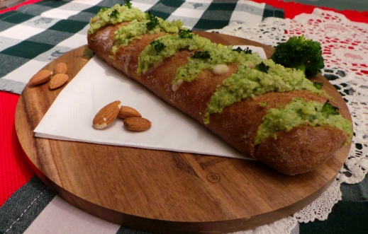 Baguette Ripiena di Crema di Broccoli e Besciamella
