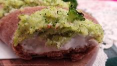 Baguette Panito Probios ripiena di crema di broccoli e besciamella