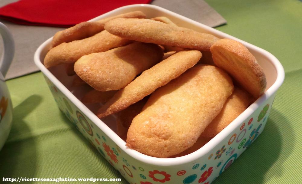 Bisctti savoiardi senza glutine con farina di riso