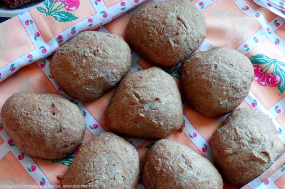 Pane senza glutine fatto in casa con farine Schar