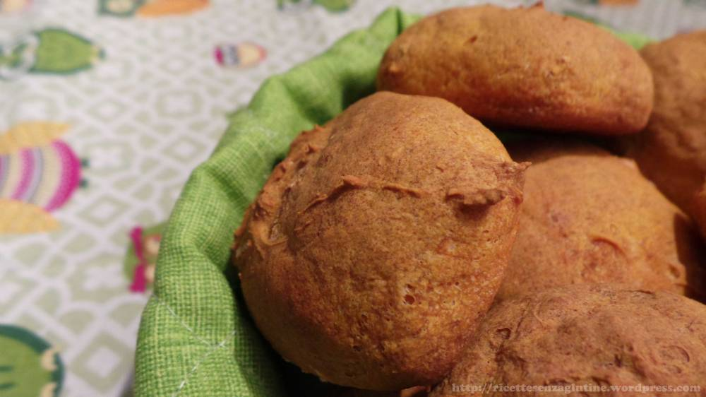 Pane di zucca fatto in casa senza glutine