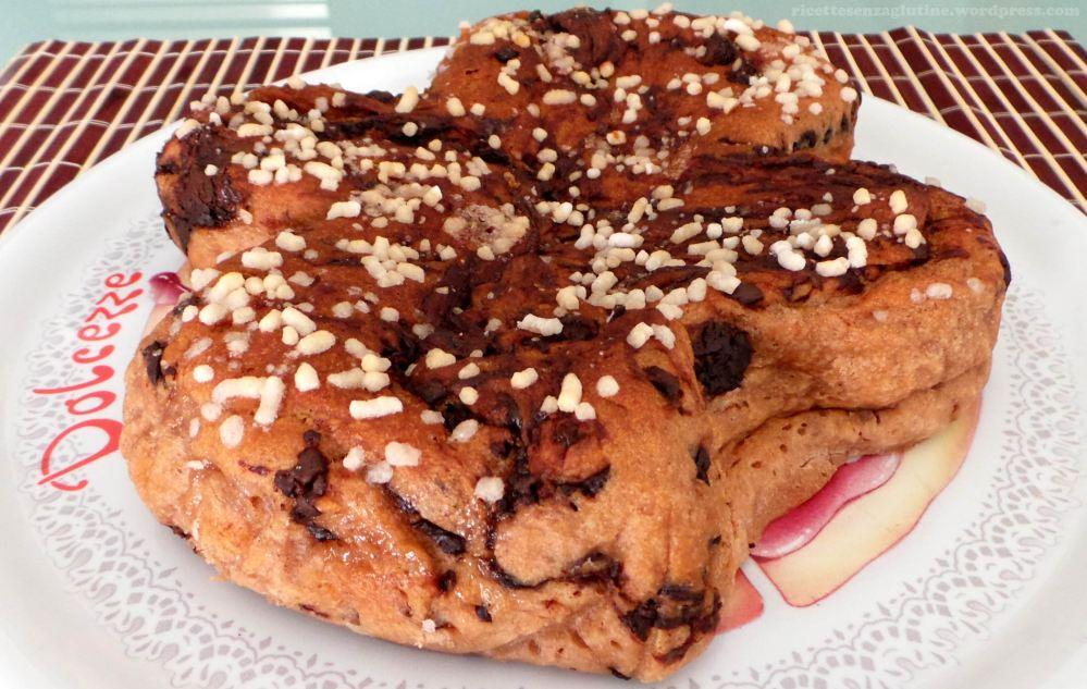 Colomba Pasquale senza Glutine Uova Burro e Latte con Gocce di Cioccolato