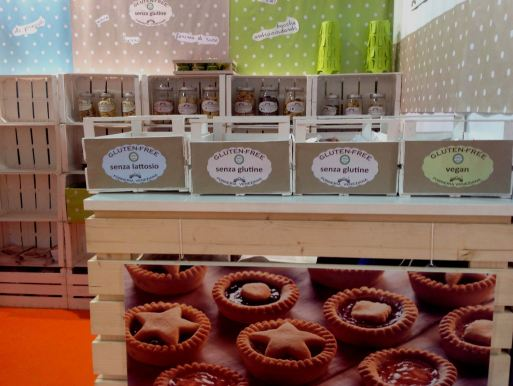 Forneria Veneziana biscotti senza glutine e vegan TuttoFood 2015
