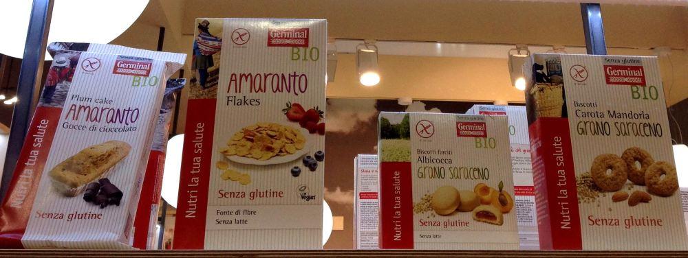 Germinal Bio senza glutine TuttoFood 2015