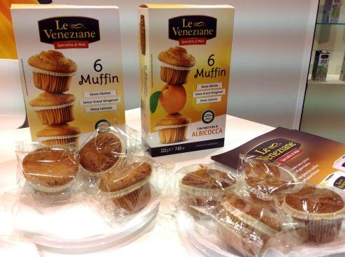 Le Veneziane muffin senza glutine TuttoFood 2015