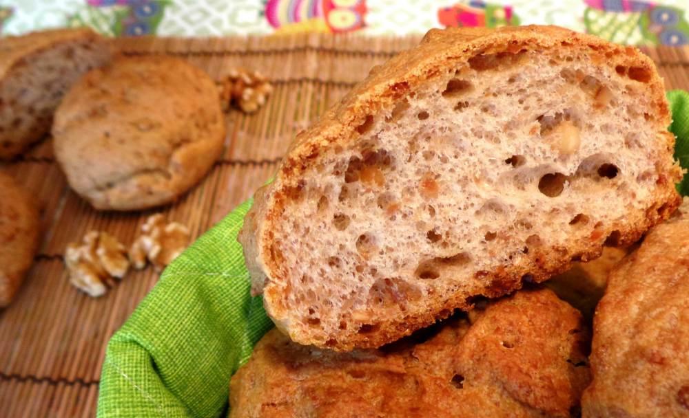 Pane alle Noci senza glutine