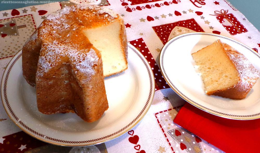 Pandoro al kefir ricetta senza glutine e senza panna