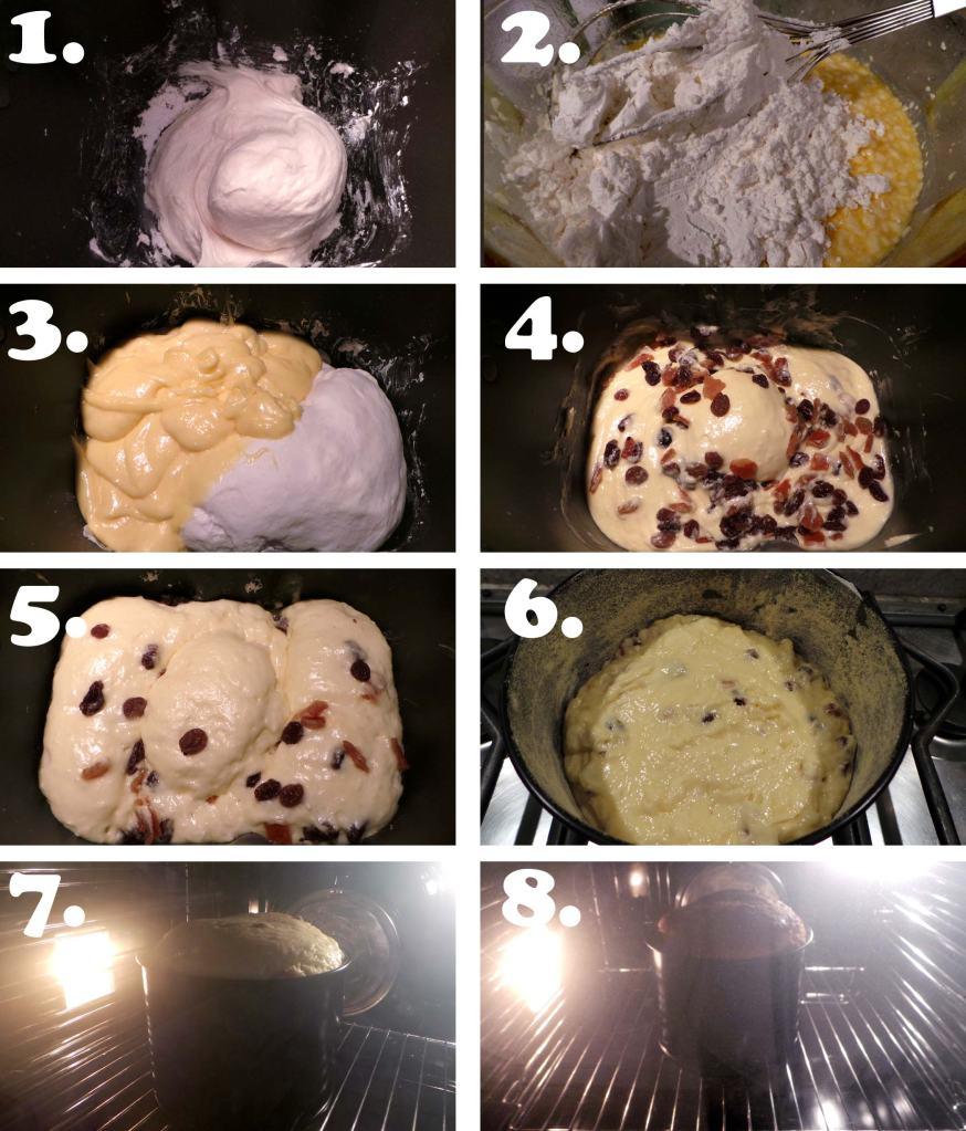 Tutorial ricette senza glutine per panettone semplice fatto in casa