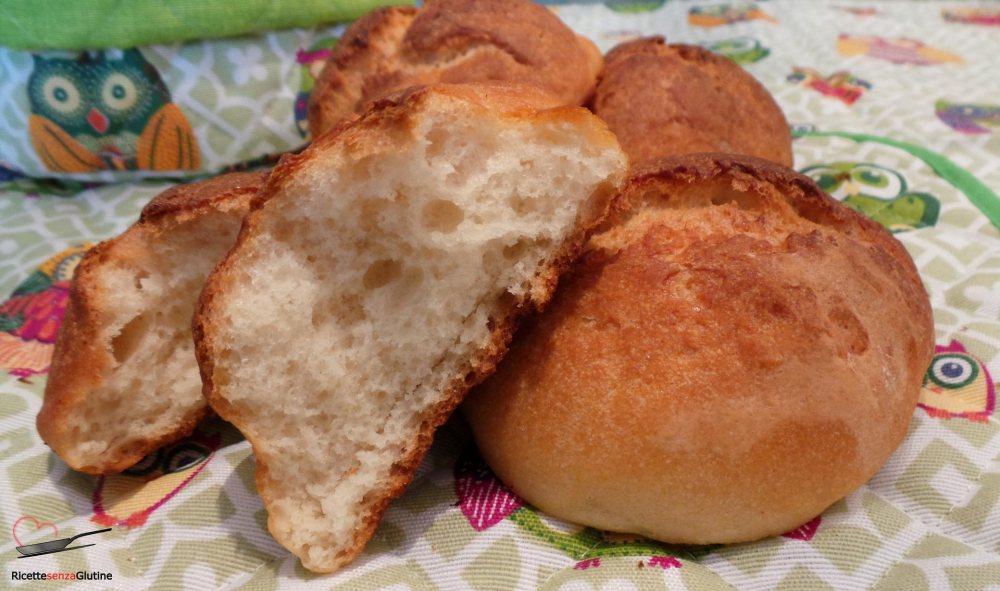 panini morbidi ricetta senza glutine
