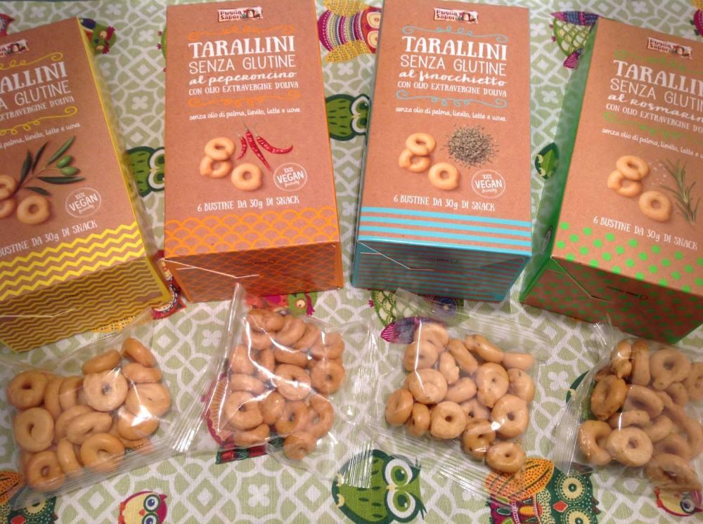 Tarallini senza glutine Puglia Sapori srl