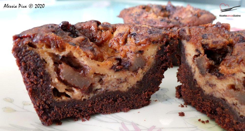 Tortini-senza-glutine-pere-mascarpone-cioccolato